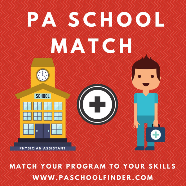 Physician Assistant Programs California >> Pa Program Match Find The Perfect Pa Program To Suite Your Needs