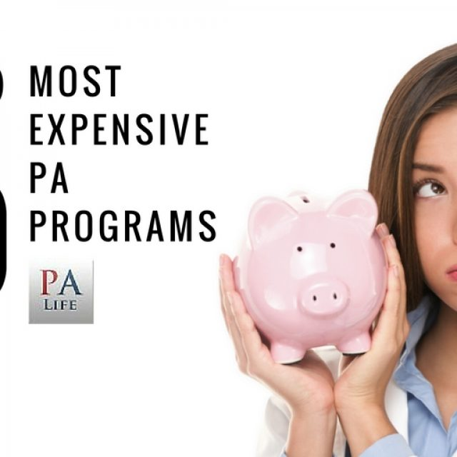 Top 20 Most Expensive PA Schools in the United States