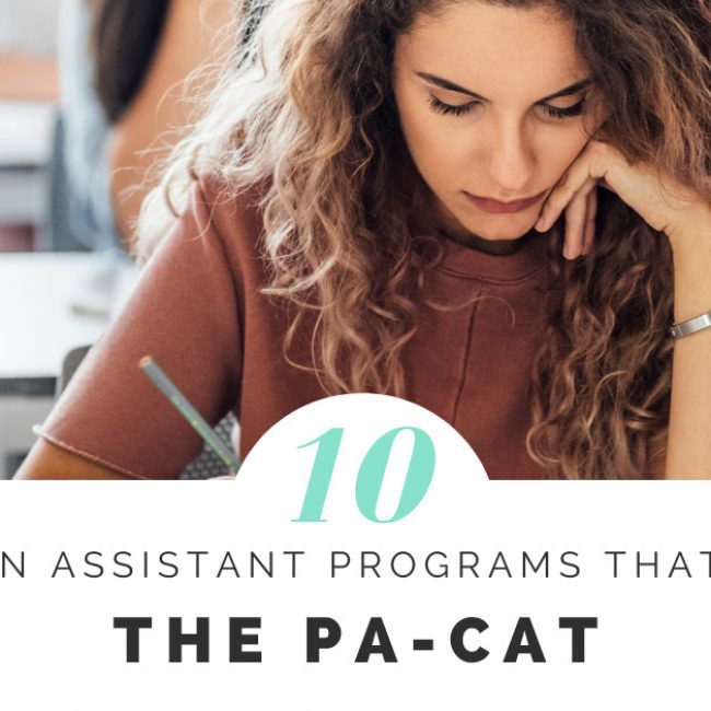10 Physician Assistant Programs that Require the PA-CAT